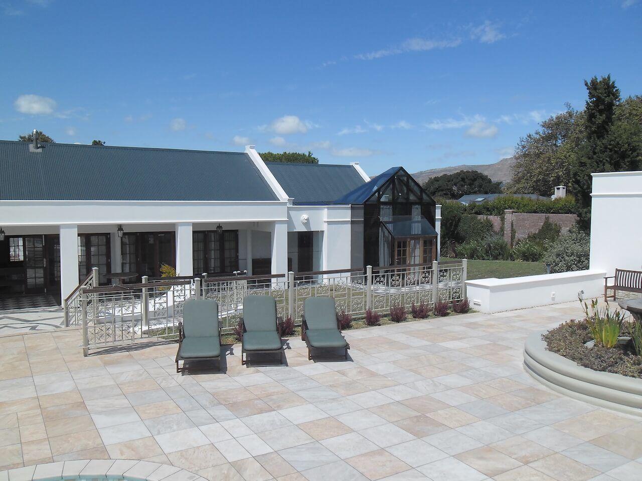 Pool View to Atrium Private Suite