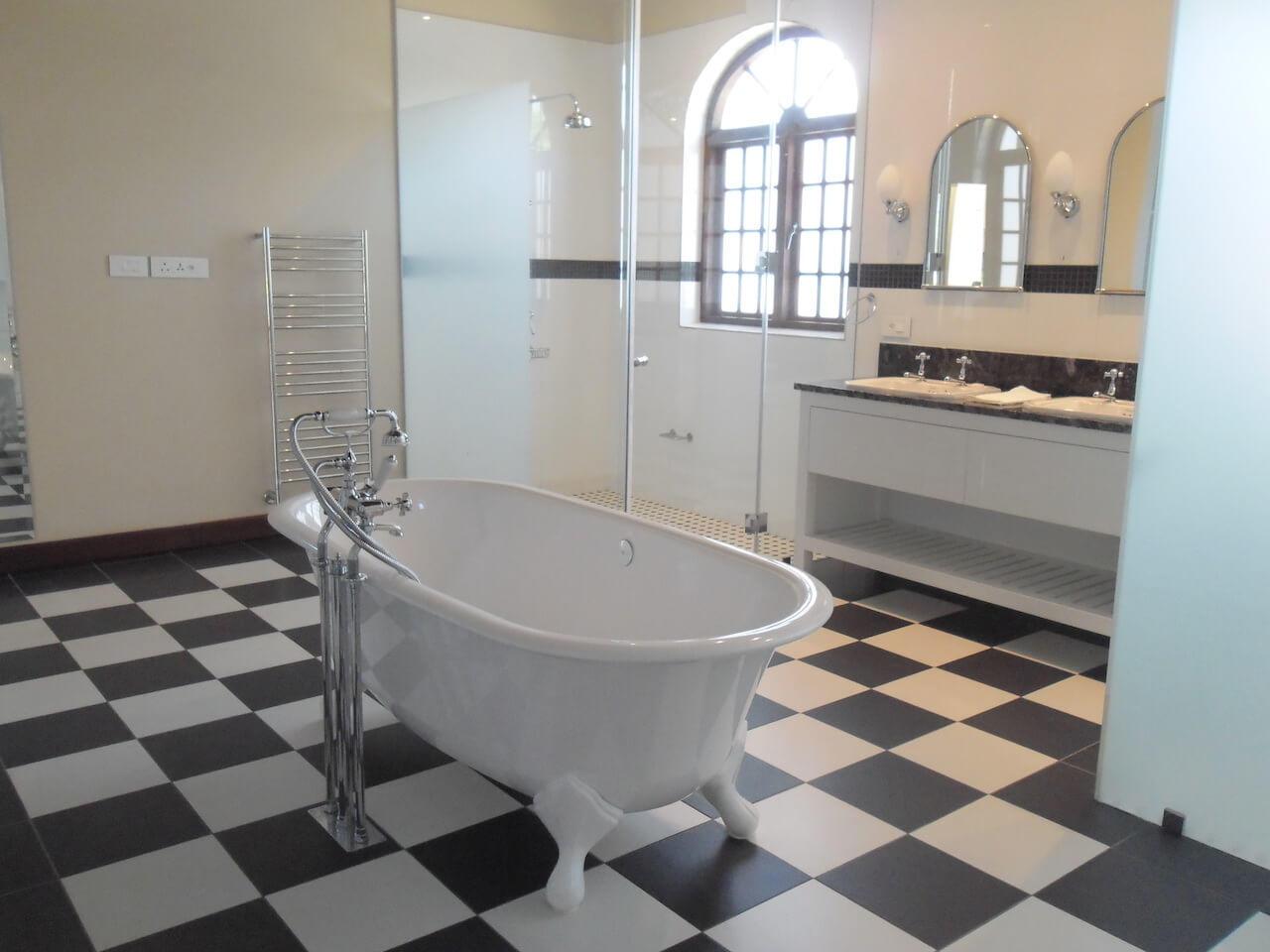 Bathroom In Atrium Suite