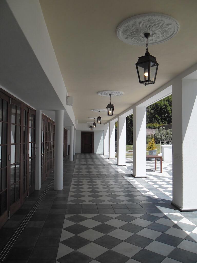 Corridor Along Back Facade