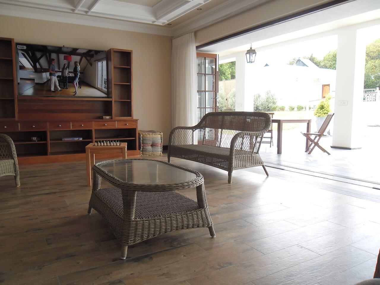 Communal Lounge Open Plan onto Corridor