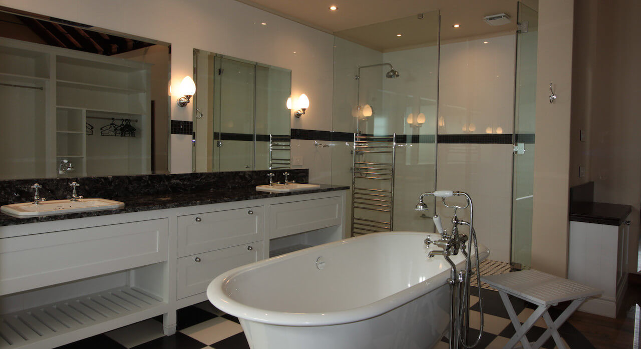 Colonial Styled Luxury Bathrooms
